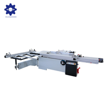 Test strictly precision horizontal 45 degrees 3150 mm working table sliding table saw with scoring saw blade
