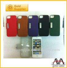 brand new protective touch case for iphone5 grid pattern design