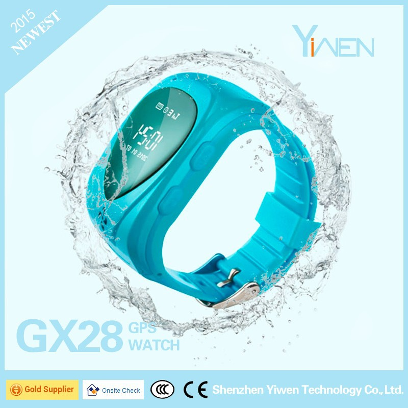 Yiwen Take Off Warning Waterproof Call-allowed GPS Tracker Smart Watch GX28 For Tracking & Monitoring People Especially Children