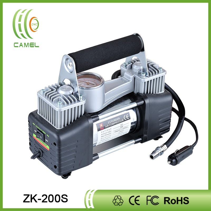 Twin cylinder 12v dc motor car air conditioner specifications