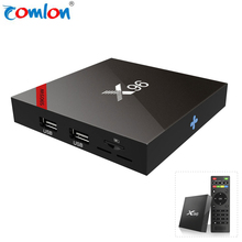 High quality wholesale X96 Android 7.1 set top box 1GB 8GB 2GB 16GB S905W global 4k ott tv box user manual