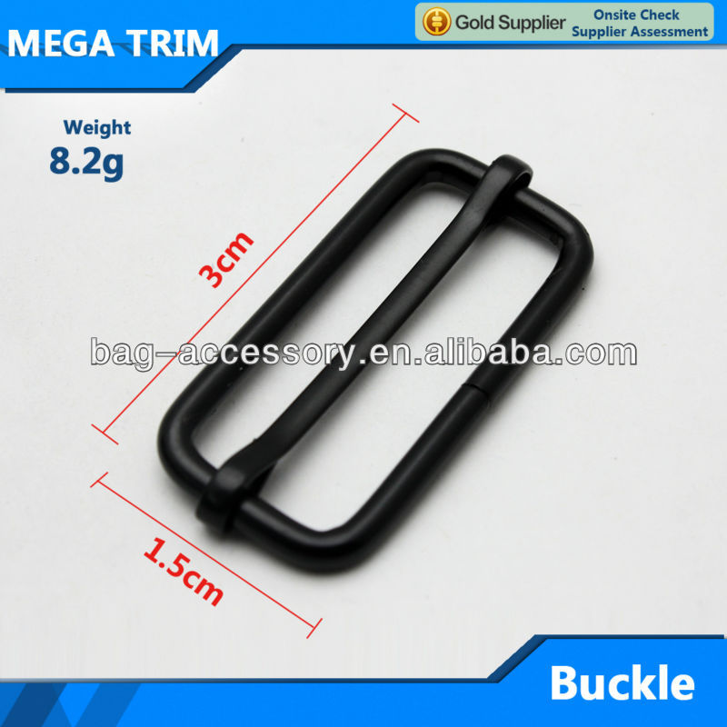 Well-reputed black color buckle metal buckle factory directly sale metal buckle wholesale in Guangzhou