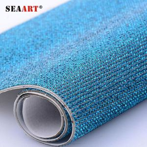 SR06 Iron On Sheet Crystal Rhinestone Mesh Fabric d8089a5b0806