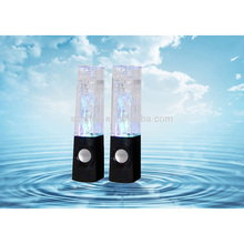 LED Dancing Water Show Music Fountain Light bts Speakers for Phones Computer Laptop