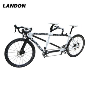 Double seat Bicycle for two people carbon rim tandem downhill wholesale alloy rim