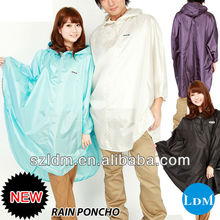 Fashion Nylon Rain Poncho