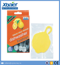PVC dishwasher air freshener hot sale