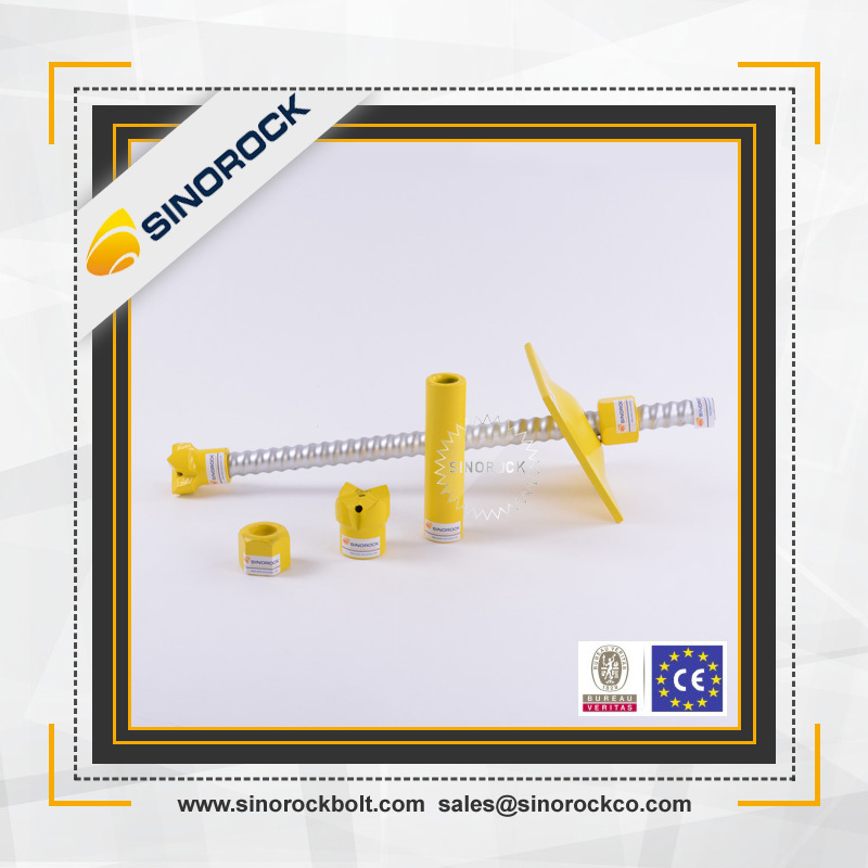 SINOROCK high quality self drilling hollow steel reinforcing bars