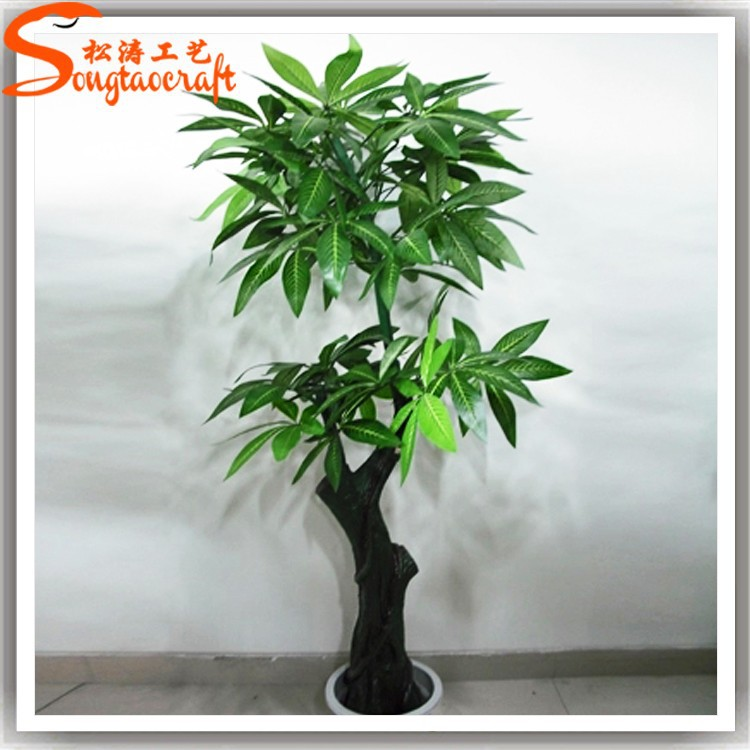 Rboles artificiales baratas reciclar indoor plantas - Plantas artificiales decorativas ...
