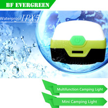 Emergency Light Mini Tent Light Led Camping Lantern Lights Rechargeable (Powered By AAA Batteries or USB Charging)