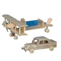 2016 Serviceable handmade wooden model car