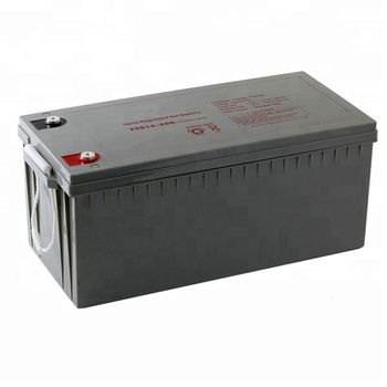 High Efficiency 12v 24 volt Lead Acid Battery 100 Ah 200Ah for Sale
