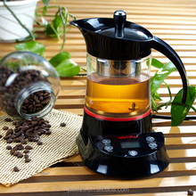 1000W 0.4L Electronic glass kettle multifunction boiler for making tea making coffee boiling water warming milk