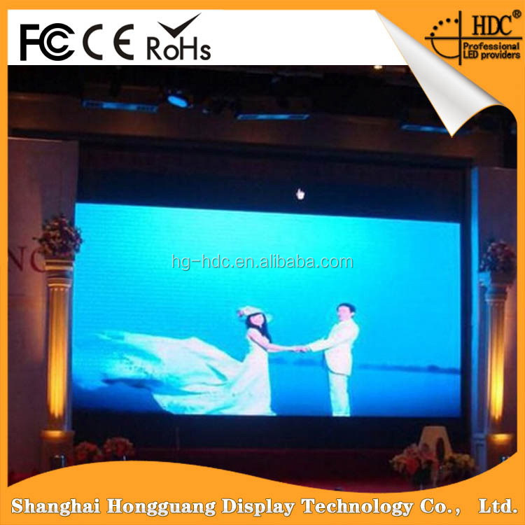 Premium quality import grade indoor p3.91 led flat panel displays