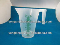 plastic measuring cup 500ml drinks cups plastic set for bar /trial