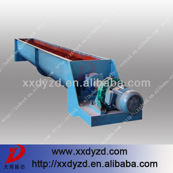 Spiral conveying ore small vibrating screw conveyor