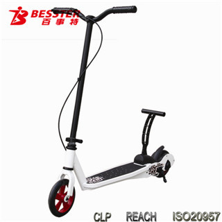 BEST JS-008 KICK N GO 3 wheel folding motor scooter for kids