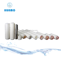 0.1 0.22, 0.45, 1, 2,5, 10, 20 Micron PP Pleated Filter Cartridge,absolute pleated filter cartridge