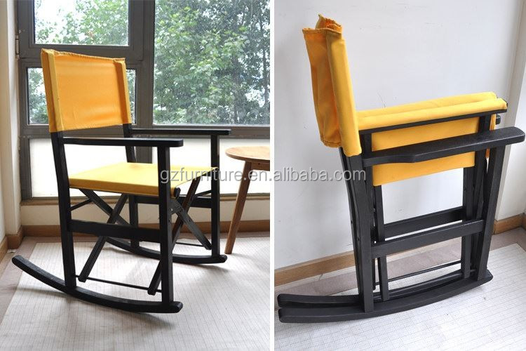2016 cheap folding wood camping director chair sale