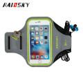 HAISSKY For iPhone 6S Plus Armband Reflective Sports Pouch Running Pack Armband Gym Wrist Bag Touchscreen Sleeve