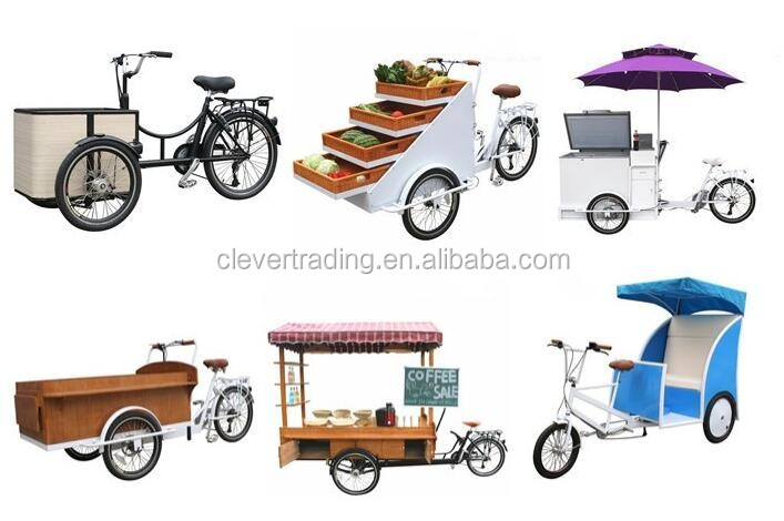 High quality Cool Lithium Battery tricycle cargo bike
