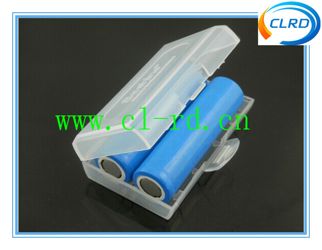 Soshine 2*18650 Battery Case Holder With Transparent Color For Various Battery With Less Than 69.5mm Length