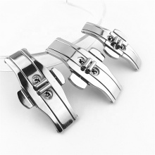 professional classic wristwatch belt clip hooks ladies gentleman stainless steel watch buckles
