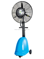 Industrial Water Mist Fan Industrial Standing Floor Fan Outdoor Fans