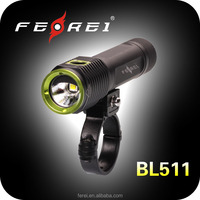 860 lumen led bicycle light, cree xml2 u2 led bike headlight and helmet light Ferei BL511