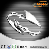 factory quality motorbike side mirror bajaj scooter spare parts rearview mirror motor