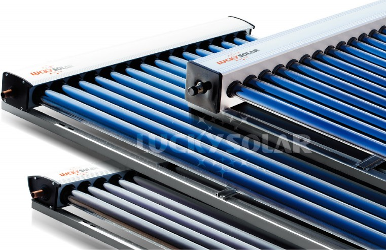 Split High pressure Solar water heater with working station