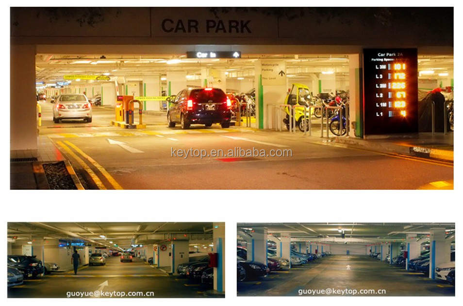 Vacant car parking space guidance - Wireless Display
