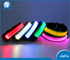 Durable highlight LED pet collar CR2032 battery button cell battery led dog collar