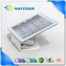 Elegant digital products shop tablet pc security alarm display stand