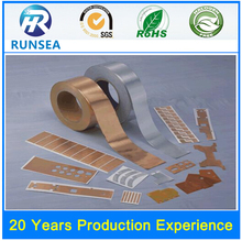 double sided aluminum foil self adhesive tape professional produced double side aluminum foil for cable insulation