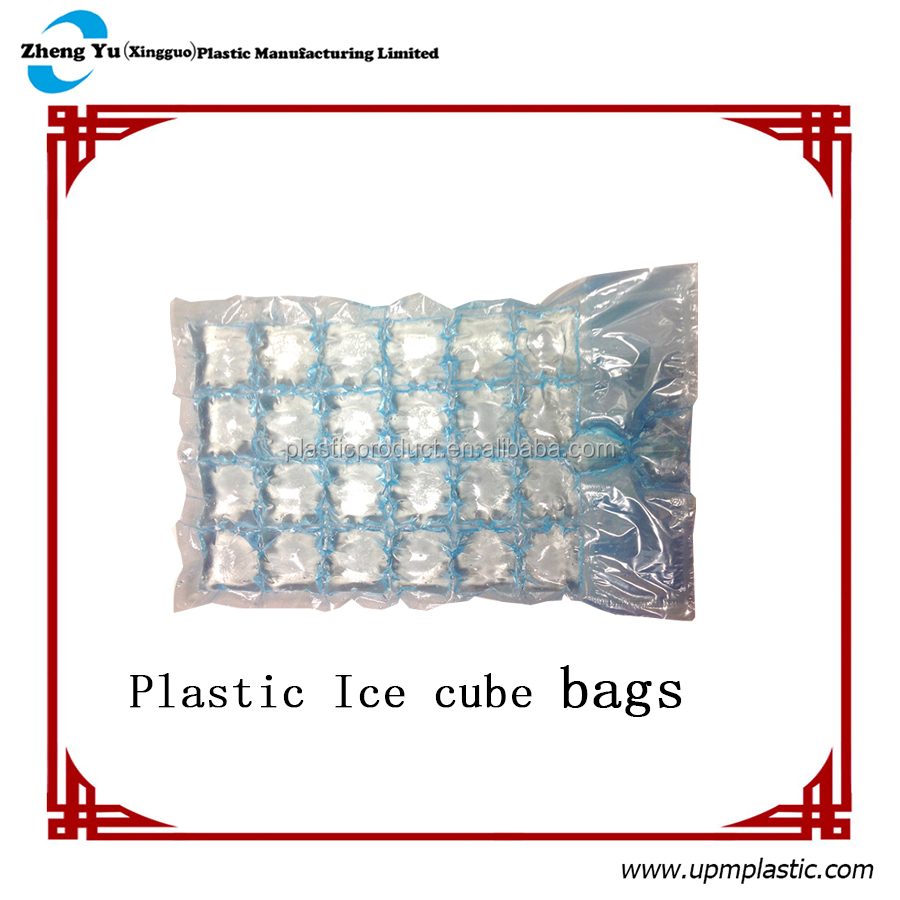 Disposable plastic Ice cube bags