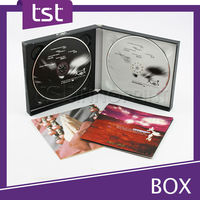 Custom DVD Box with Label Printing Replication