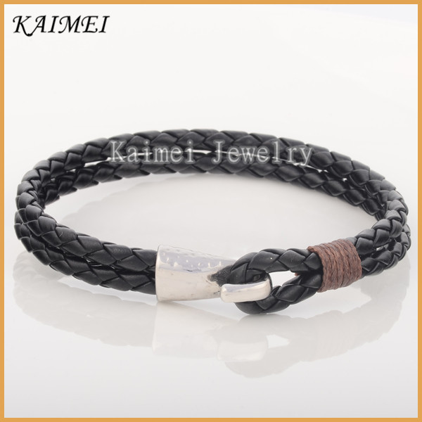 High Quality Low Price 2016 Trending Products Jewellery Pictures Of Viking Leather Bracelet