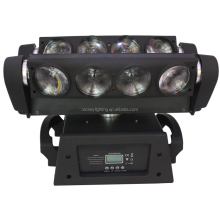 led beam 8*10w RGBW quad 4in1 disco party nightclub moving head stage light