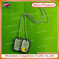 Silicone dog tag silencer /pet pendants /Pet name tags