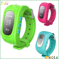 Anti-lost intelligent wearable kids android cell phone gps tracker smart watch Q50