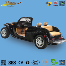 Electric vintage car sightseeing jeep golf cart suv