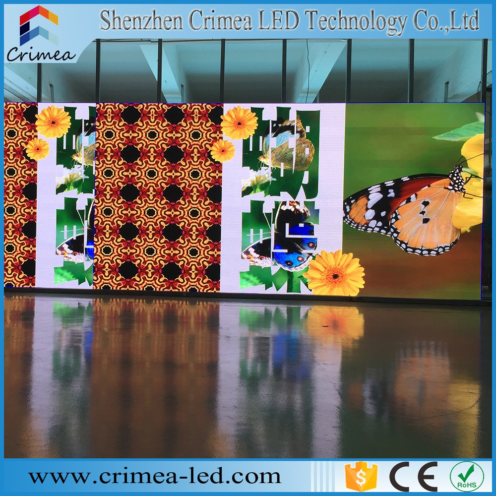 P6 high definition true color led screen for indoor stage/concert events rental
