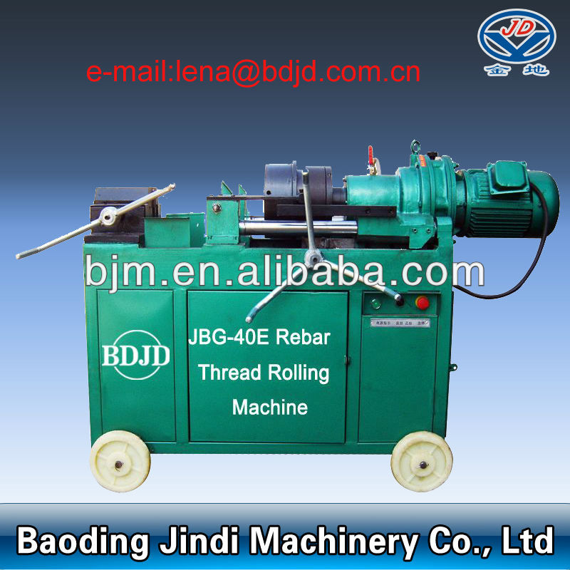 Rebar thread rolling machine with coupler(14-40mm)