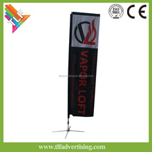 banner triangle flag christmas event display teardrop flag mini color flags