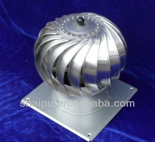 200mm Powerless Roof Turbo Air Circle Ventilator