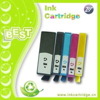 564 XL ink cartridge new chip office jet 4620 printer 5-pack