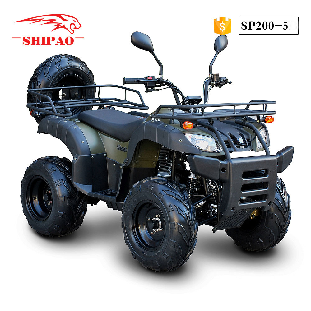 SP200-5 Shipao 2016 entertainment atv 200cc manual