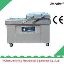 Double chamber vacuum packing machine for salted meat,dry fish,smoked pork