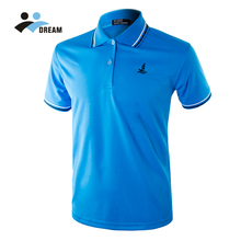 DREAM SPORT China wholesale cheap custom design high quality golf dry fit mens polo shirt